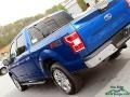Ford F150 XLT SuperCrew 4x4 Lightning Blue photo #34