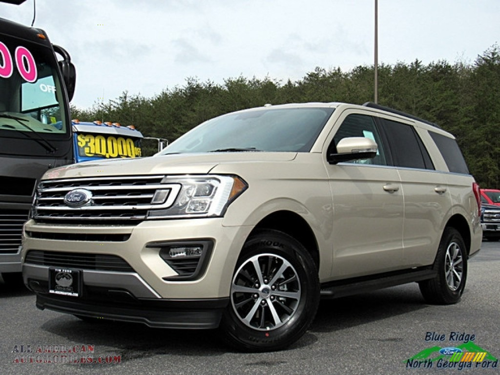 White Gold / Medium Stone Ford Expedition XLT