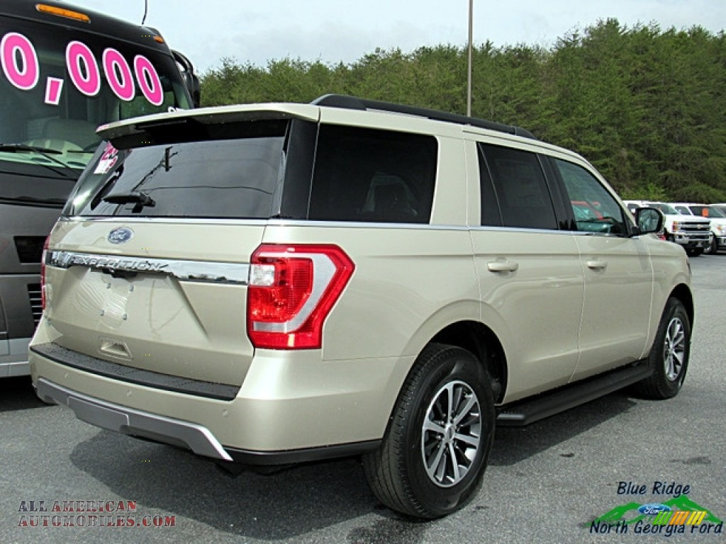 2018 Expedition XLT - White Gold / Medium Stone photo #5