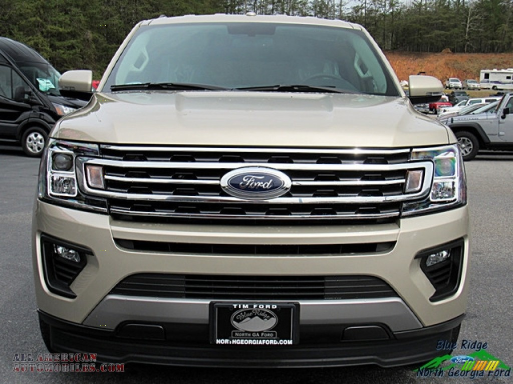 2018 Expedition XLT - White Gold / Medium Stone photo #8