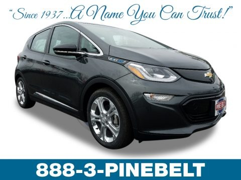 Mosaic Black Metallic 2018 Chevrolet Bolt EV LT