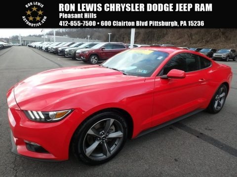 Race Red 2015 Ford Mustang V6 Coupe