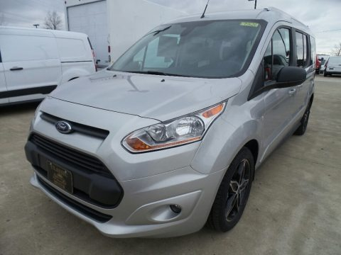 Silver 2018 Ford Transit Connect XLT Passenger Wagon