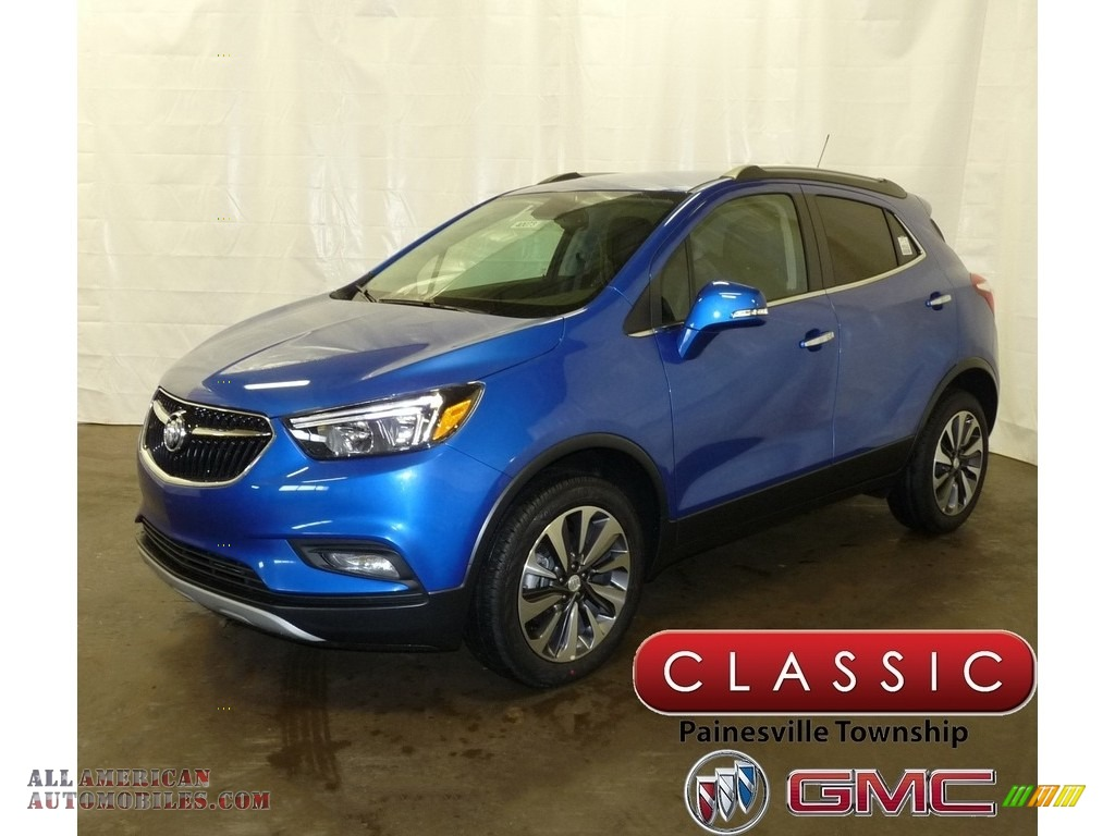 2018 Encore Preferred II AWD - Coastal Blue Metallic / Ebony photo #1