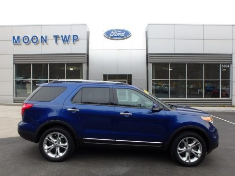 Deep Impact Blue 2015 Ford Explorer Limited 4WD