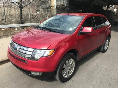 Red Candy Metallic 2010 Ford Edge SEL