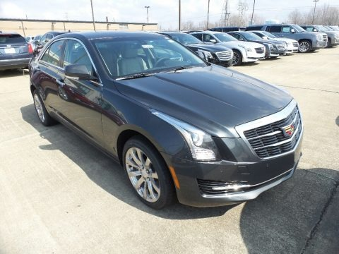 Phantom Gray Metallic 2018 Cadillac ATS Luxury AWD