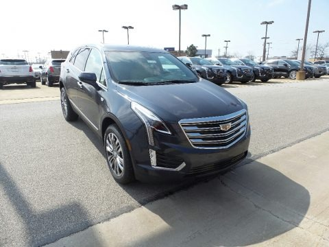 Harbor Blue Metallic 2018 Cadillac XT5 Premium Luxury AWD