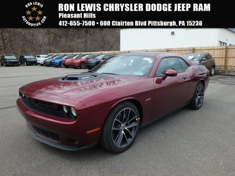 Octane Red Pearl 2018 Dodge Challenger R/T
