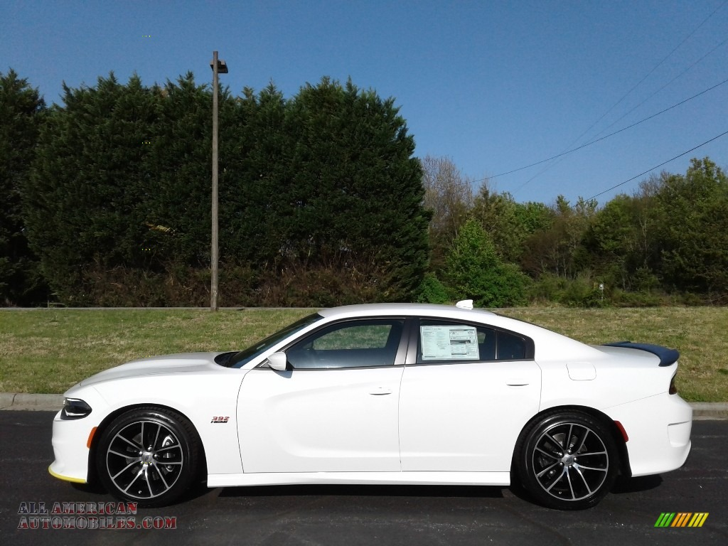 2018 Charger R/T Scat Pack - White Knuckle / Black photo #1