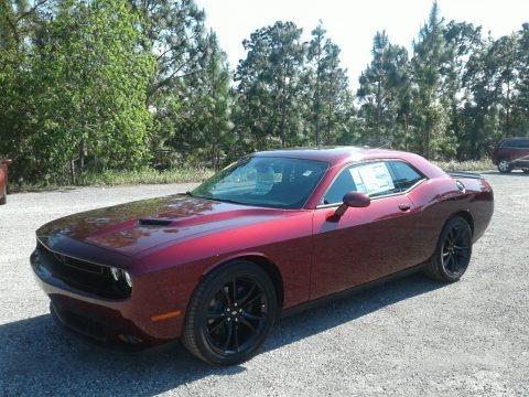 Octane Red Pearl 2018 Dodge Challenger SXT