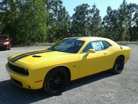 Yellow Jacket 2018 Dodge Challenger R/T