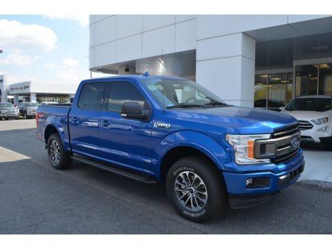 Lightning Blue 2018 Ford F150 XLT SuperCrew 4x4