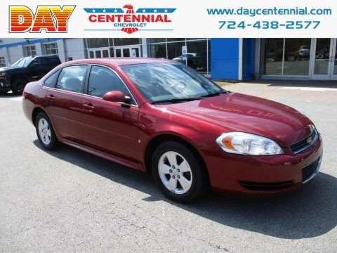 Red Jewel Tintcoat 2009 Chevrolet Impala LT