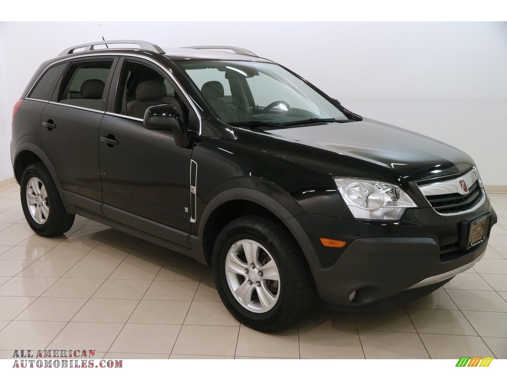 2009 VUE XE - Black Onyx / Gray photo #1