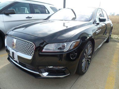 Black Velvet 2018 Lincoln Continental Reserve AWD