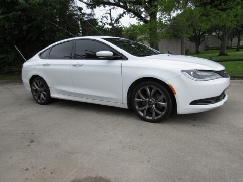 Bright White 2015 Chrysler 200 S