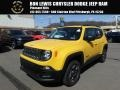 Jeep Renegade Sport 4x4 Solar Yellow photo #1