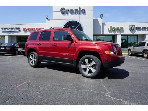 Deep Cherry Red Crystal Pearl 2016 Jeep Patriot Latitude 4x4