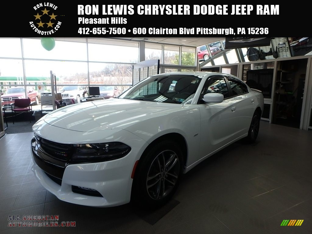 2018 Charger GT AWD - White Knuckle / Black photo #1