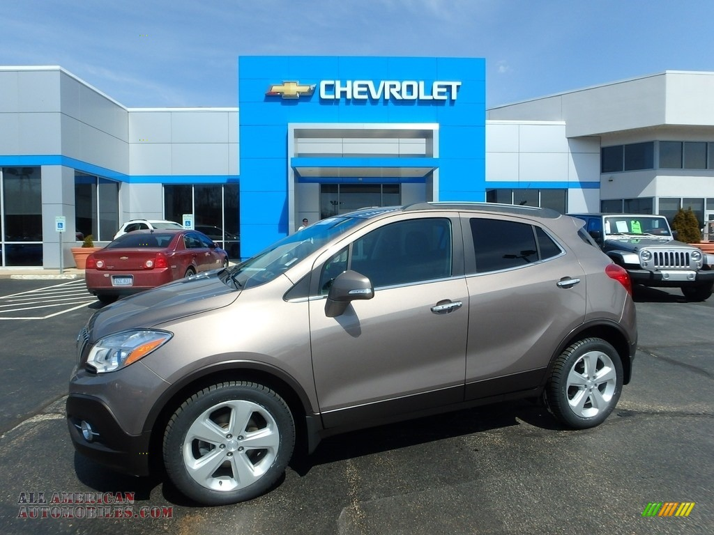 2015 Encore Convenience AWD - Cocoa Silver Metallic / Ebony photo #1