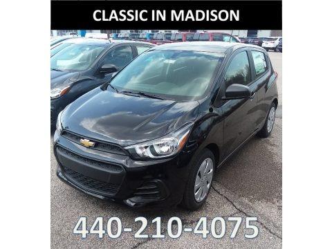 Mosaic Black 2018 Chevrolet Spark LS