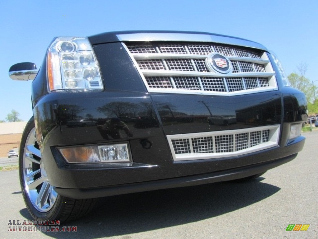 2013 Escalade ESV Platinum AWD - Black Raven / Ebony photo #1
