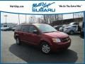 Dodge Grand Caravan SE Inferno Red Crystal Pearl photo #1