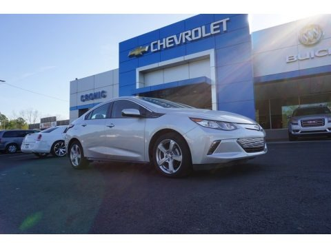 Silver Ice Metallic 2017 Chevrolet Volt LT