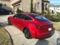 Tesla Model 3 Long Range Red Multi-Coat photo #28