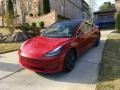 Tesla Model 3 Long Range Red Multi-Coat photo #33