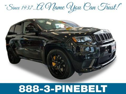 Diamond Black Crystal Pearl 2018 Jeep Grand Cherokee Trackhawk 4x4