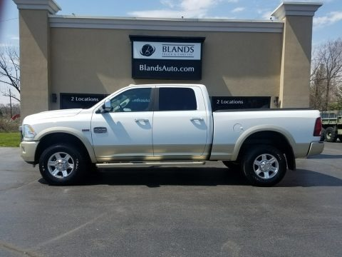 Bright White 2011 Dodge Ram 2500 HD Laramie Crew Cab 4x4
