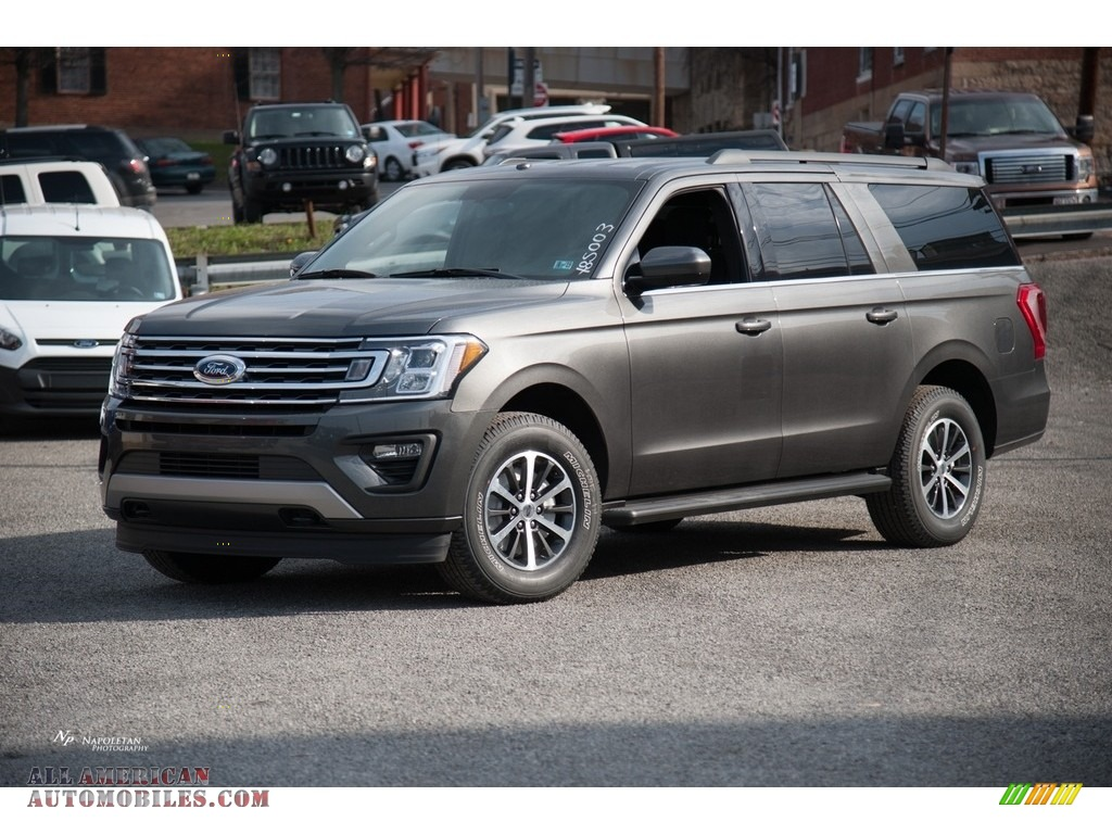 2018 ford expedition xlt max 4x4 in magnetic for sale a31245 all american automobiles buy. Black Bedroom Furniture Sets. Home Design Ideas