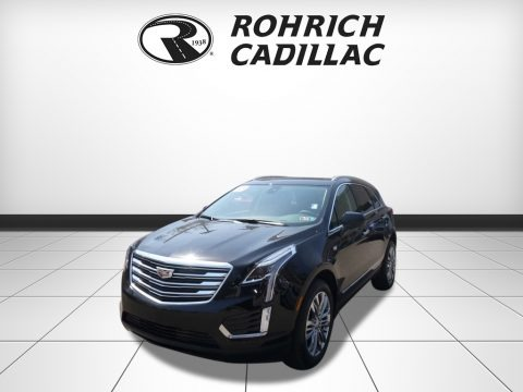Stellar Black Metallic 2017 Cadillac XT5 Premium Luxury
