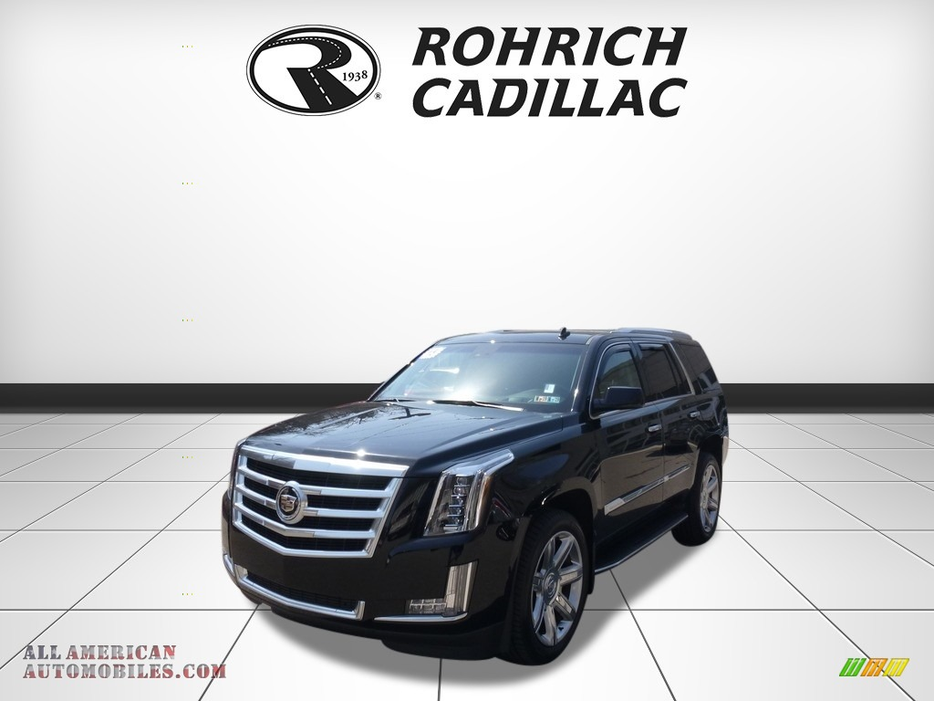 2015 Escalade Luxury 4WD - Black Raven / Jet Black photo #1