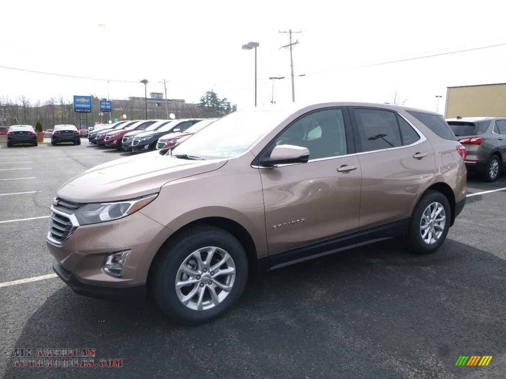 Sandy Ridge Metallic / Jet Black Chevrolet Equinox LT AWD