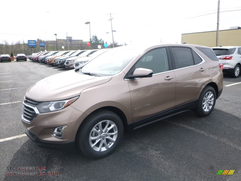 2018 Equinox LT - Sandy Ridge Metallic / Jet Black photo #1