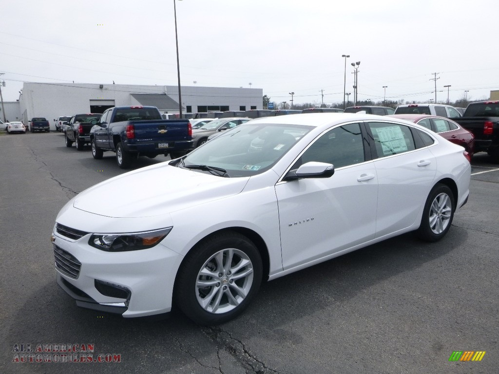 2018 Malibu LT - Summit White / Jet Black photo #1