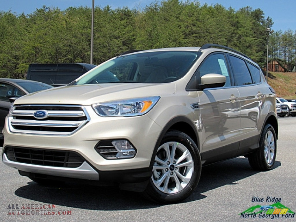 White Gold / Medium Light Stone Ford Escape SE