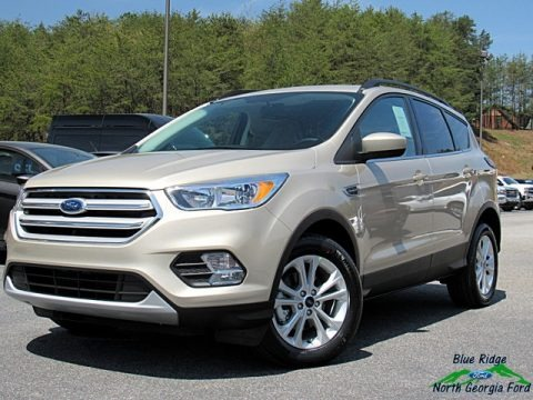 White Gold 2018 Ford Escape SE
