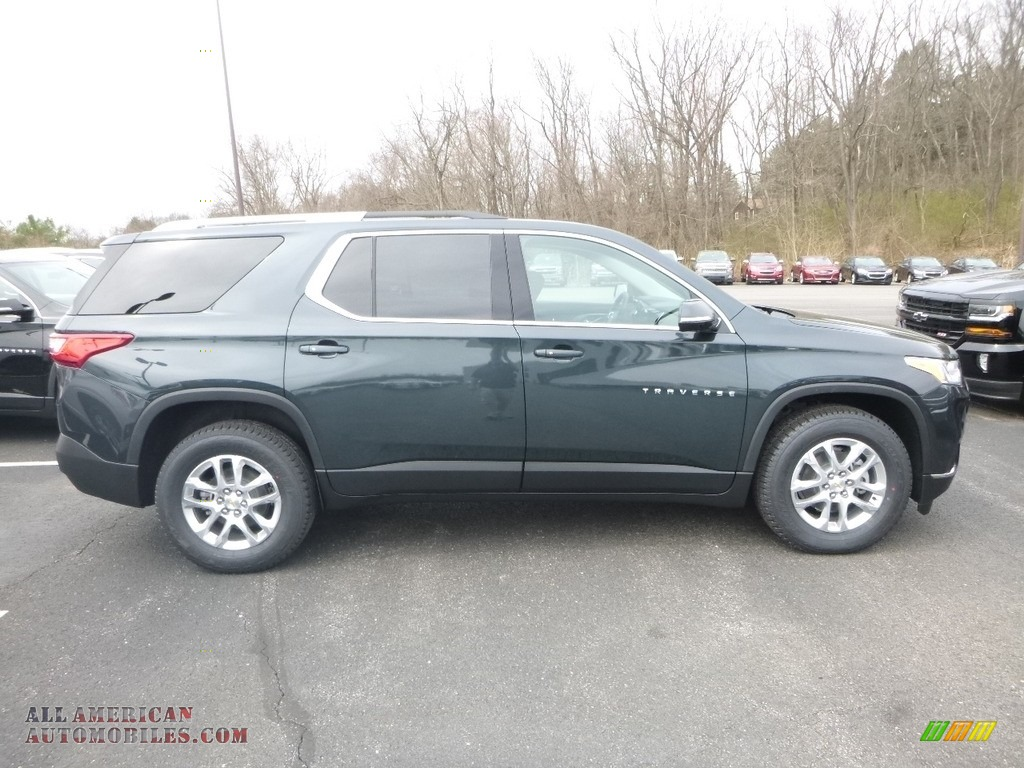 2018 Traverse LT AWD - Graphite Metallic / Jet Black photo #6