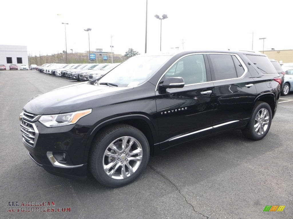 Mosaic Black Metallic / High Country Jet Black/Loft Brown Chevrolet Traverse High Country AWD