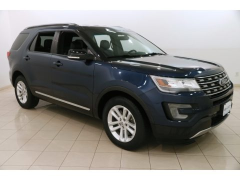 Blue Jeans Metallic 2016 Ford Explorer XLT
