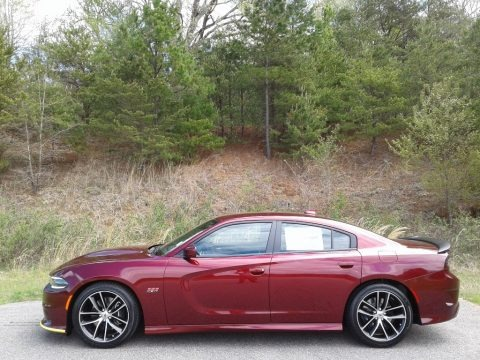 Octane Red Pearl 2018 Dodge Charger R/T Scat Pack