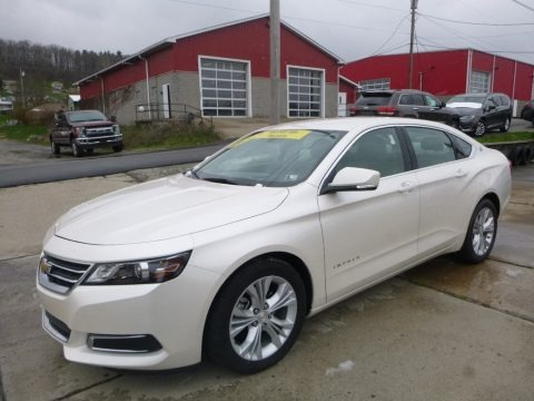 Summit White 2014 Chevrolet Impala LT