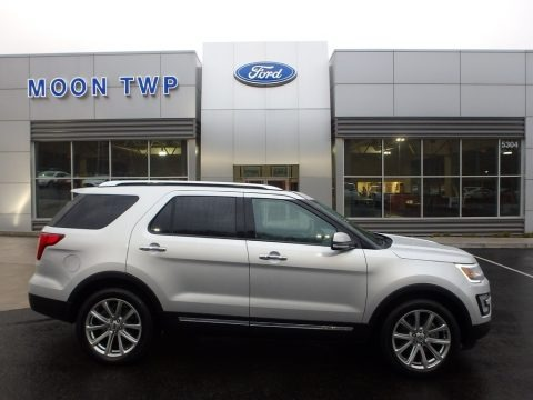 Ingot Silver 2017 Ford Explorer Limited 4WD