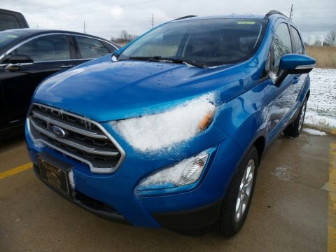 Blue Candy 2018 Ford EcoSport SE