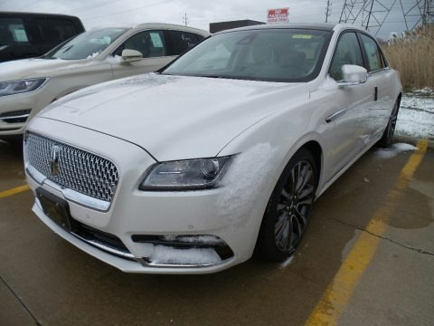 White Platinum 2018 Lincoln Continental Select AWD