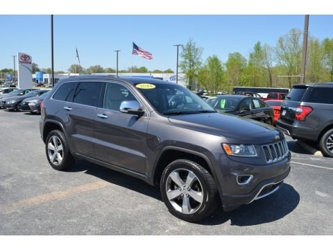 Granite Crystal Metallic 2014 Jeep Grand Cherokee Limited 4x4